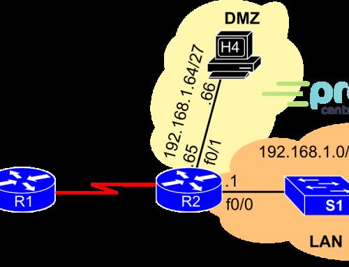 Lab 04 CCNA R&S – Access Control Lists (ACLs) dla IPv4