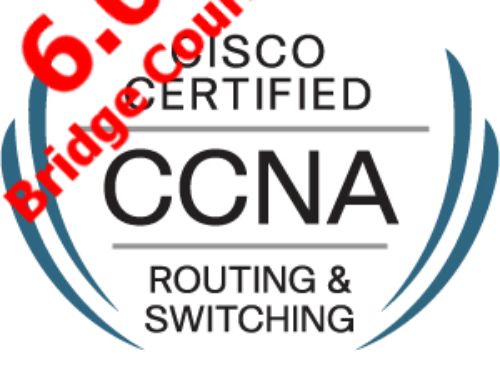CCNA R&S wersja 6.0 i bridging course