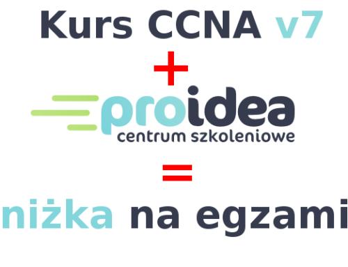 CCNAv7 – zniżka (voucher) na egzamin certyfikacyjny